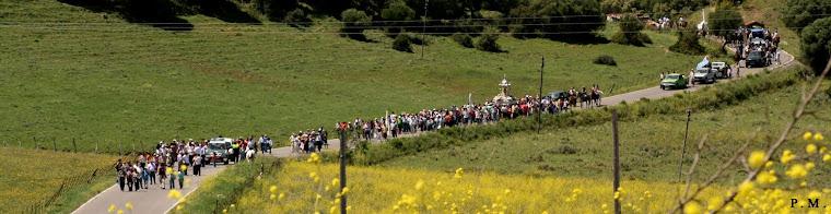 VENIDA VIRGEN DE LOS SANTOS SANTUARIO - ALCALÁ - 2010