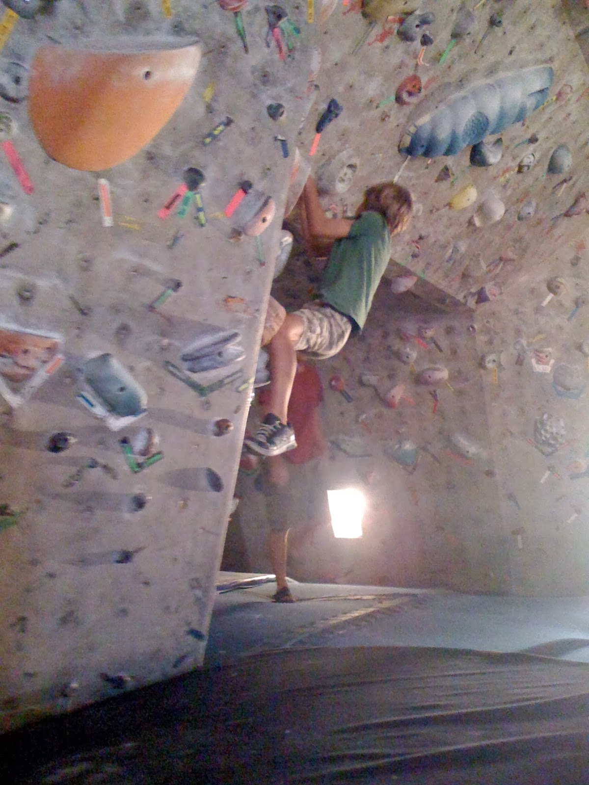 Red Rock Climbing Gym in Las Vegas