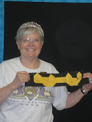A Princess Sews-every retreat girl gets a real tiara!