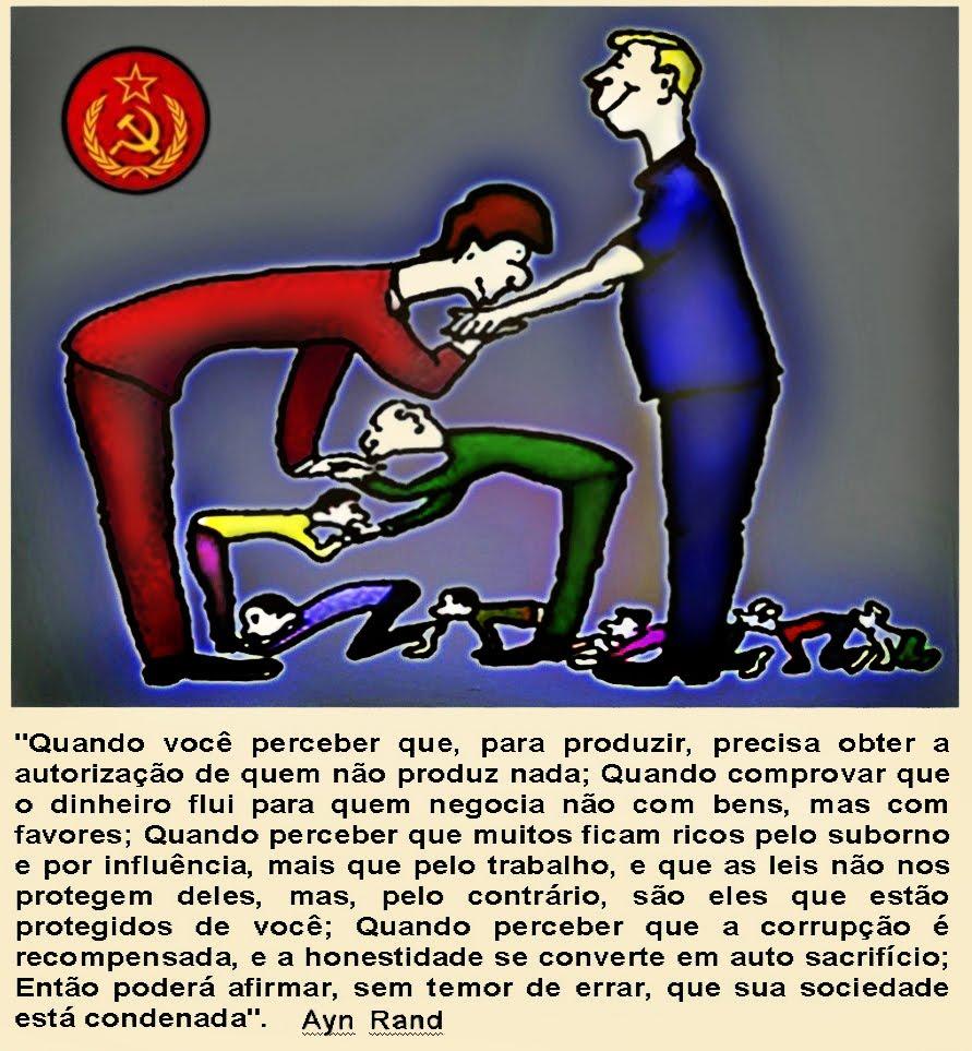 COMUNISMO - O REINO DO SUBJETIVISMO - OLAVO DE CARVALHO - RELAÇÕES DE PODER PREDOMINAM