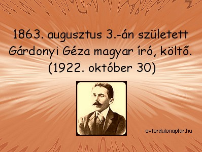 Gárdonyi Géza magyar író