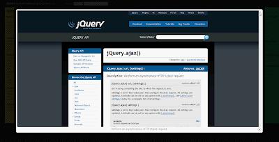 Ajax 載入 jQuery 官網說明文件