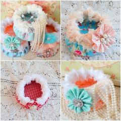 Round Fabric Baskets