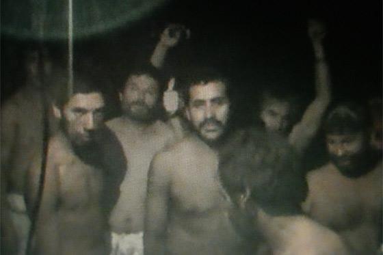 Mineros atrapados en derrumbe de mina San José