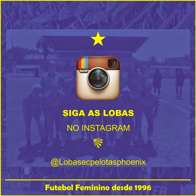 Siga as Lobas no Instagram