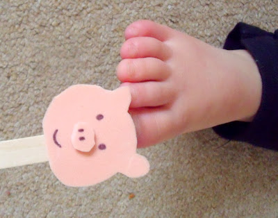 This Little Piggy Activity for Babies and Toddlers