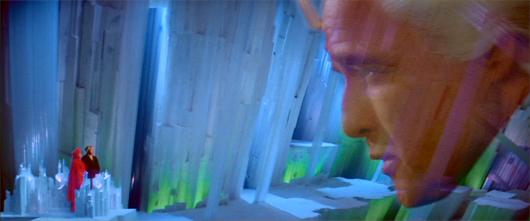 Marlon Brando en una escena de Superman II de Donner