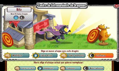 imagen de los ataques del dragon hades