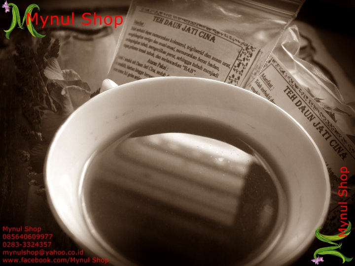 Mynul Shop: Teh Herbal => TEH DAUN JATI CINA
