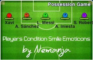 Players Condition Smile Emotion by Nemanja