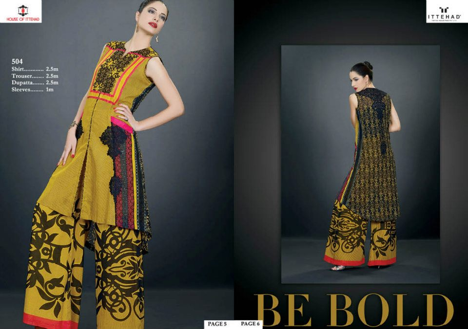EmbroideredSwissVoileSpringSummercollection2013 3 - Ittehad Lawn Embroidered