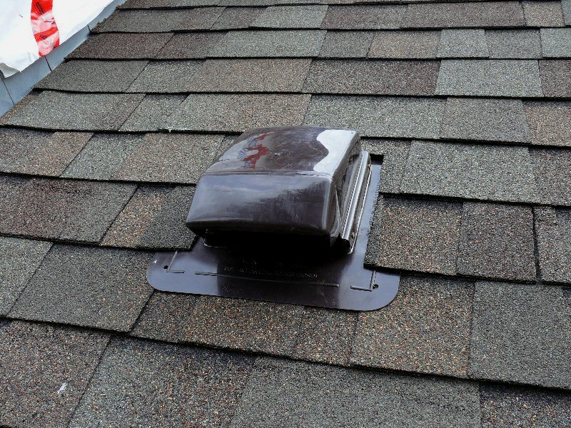Bathroom Fan Roof Vent Installation Home Design