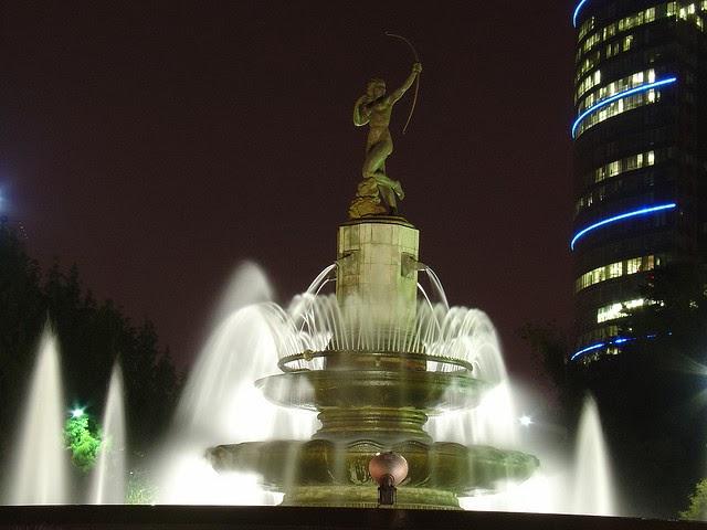La Fuente de la Diana Cazadora, México
