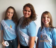 Rainha e Princesas da EMEF Madalena 2013