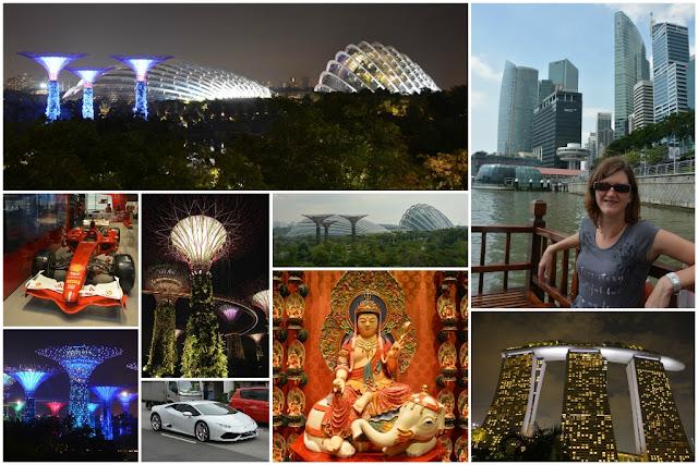 Singapore Collage