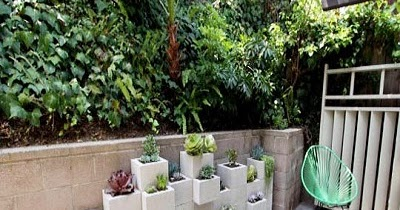 Decoraci n econ mica de jardines macetas en altura con for Decoracion hogar economica