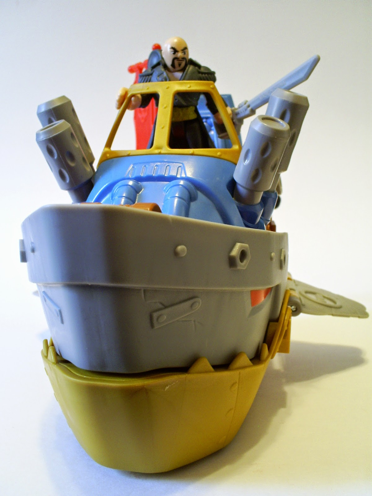 Shark Ship Toy : That figures review imaginext pirates shark boat