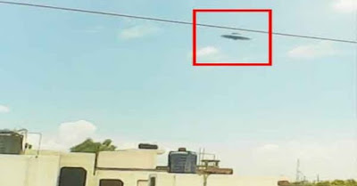 UFO avvistato nell'estate 2015 a Kunpur, in India