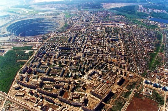 Mirny diamond. Siberia
