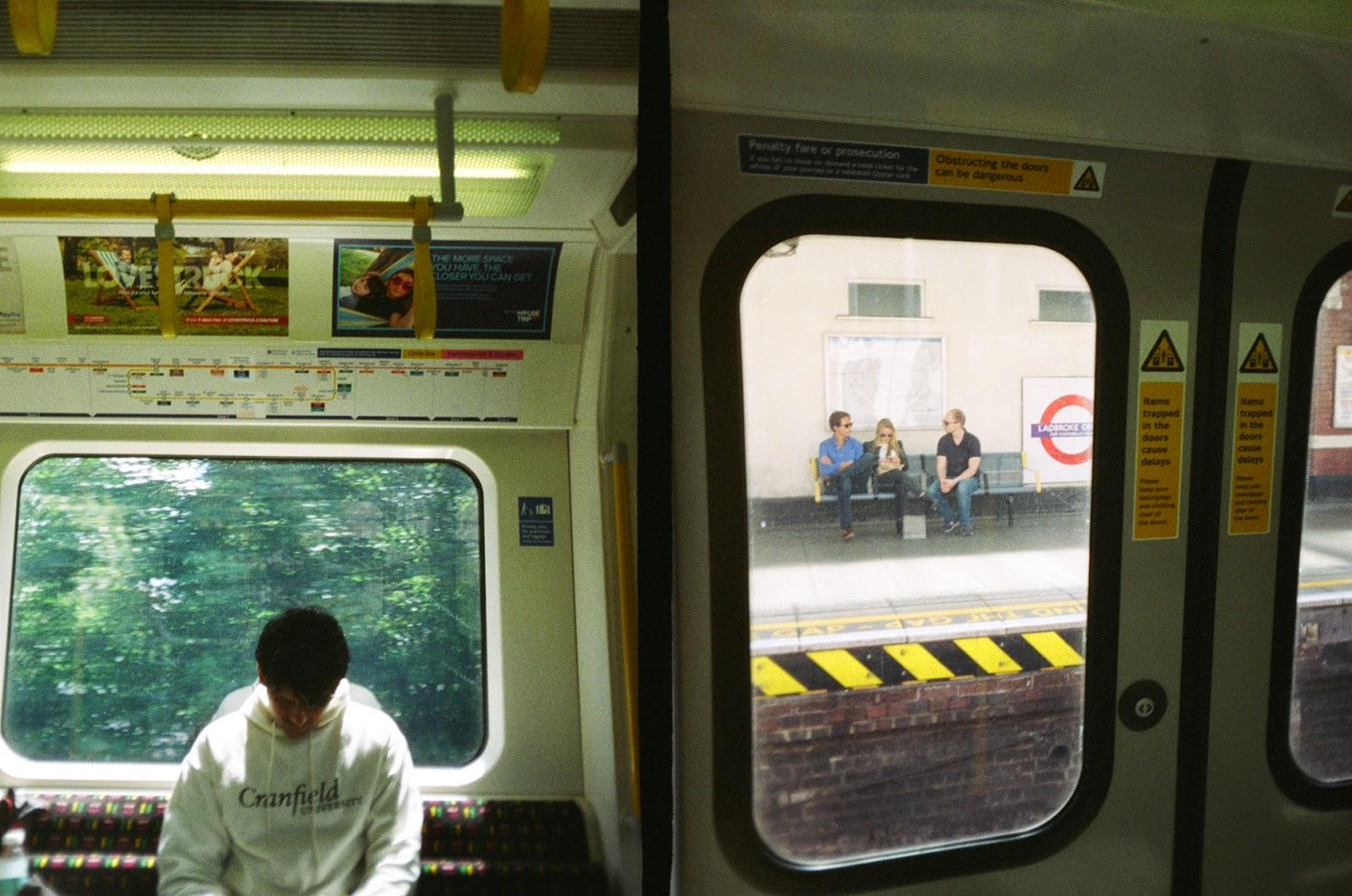 Superheadz Golden Half Camera London tube