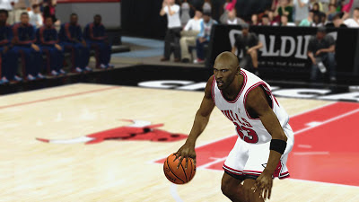 NBA 2K13 Michael Jordan Cyberface Patch
