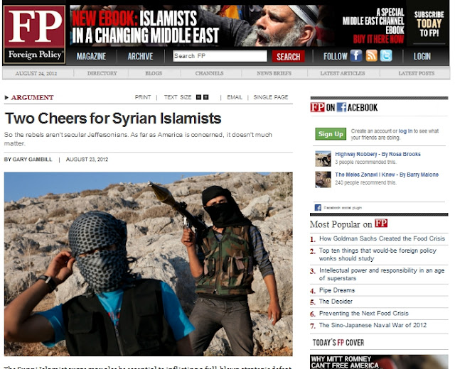 Globalist Rag Gives Two Cheers for Terrorism FP Cheers Al Qaeda