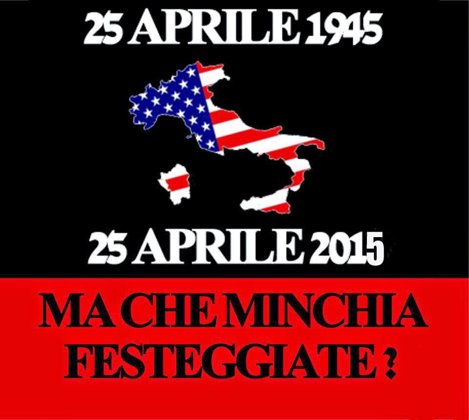 25 aprile – Festa della servitù italiana