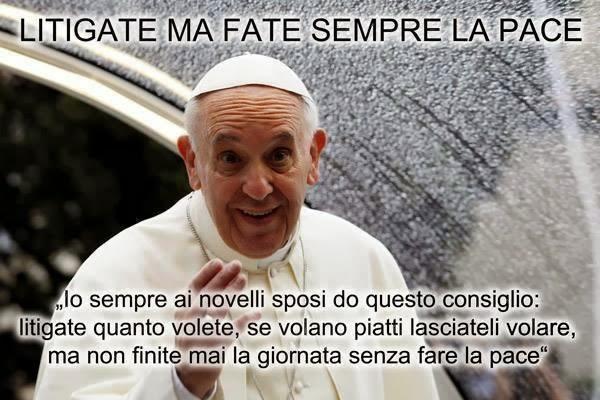 Papa Francesco frasi celebri belle e poetiche su amore