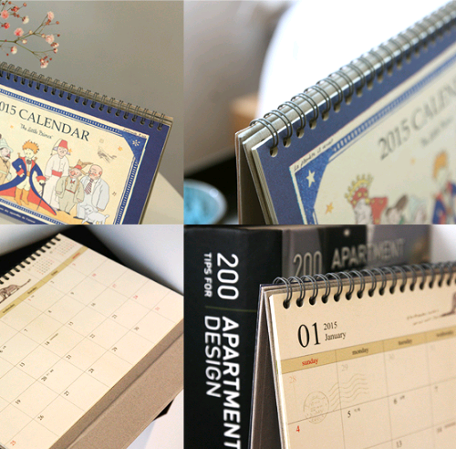 2015 Little Prince Desk Calendar