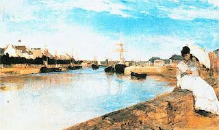 Берта Моризо. Гавань в Лорьене. 1869.