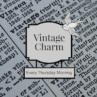Vintage Charm Party / Thursday link party / mythriftstoreaddiction.blogspot.com