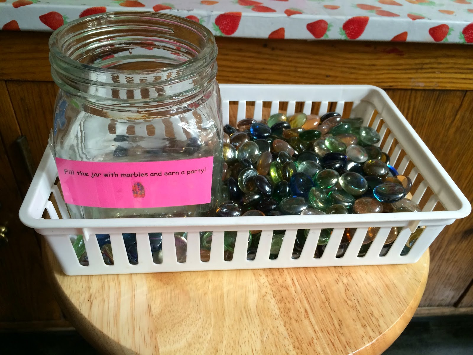 Classroom Marble Jar Ideas : Wild about first grade
