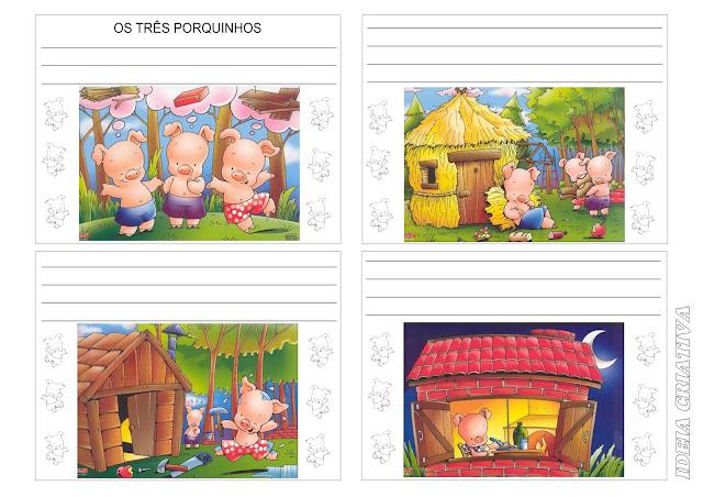 Produção Textual - Os Três Porquinhos