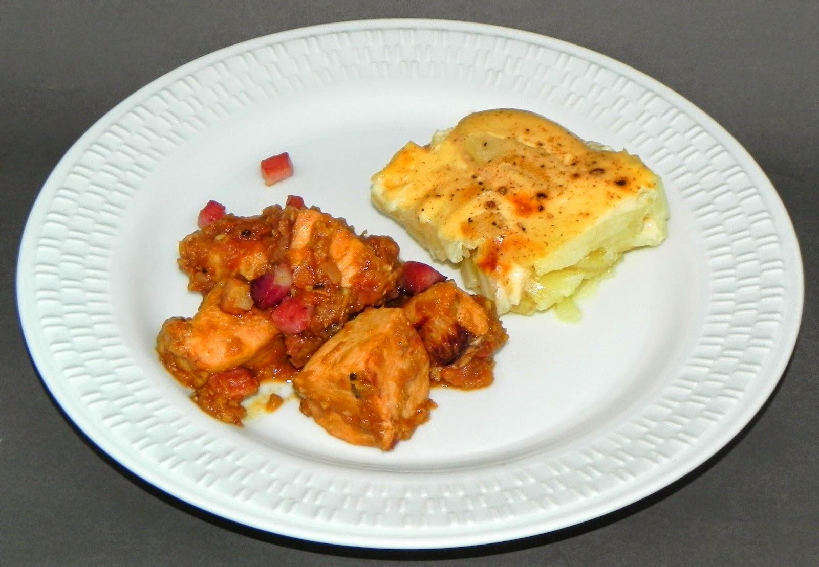 melhor receita de frango cítrico com batatas gratinadas