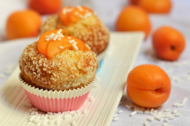 muffin alle albicocche fresche