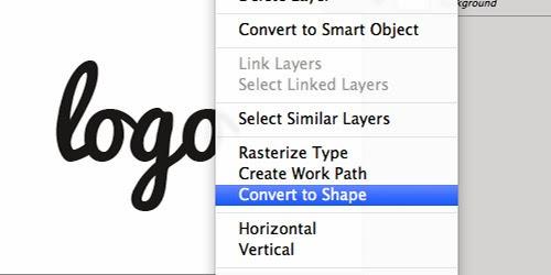 Mengkonversi Teks Photoshop Ke SVG