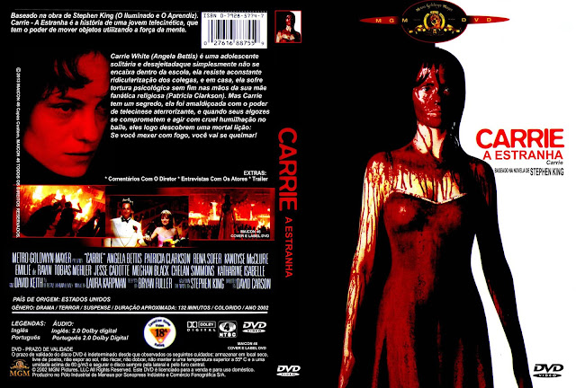 Capa DVD Carrie A Estranha [2002]