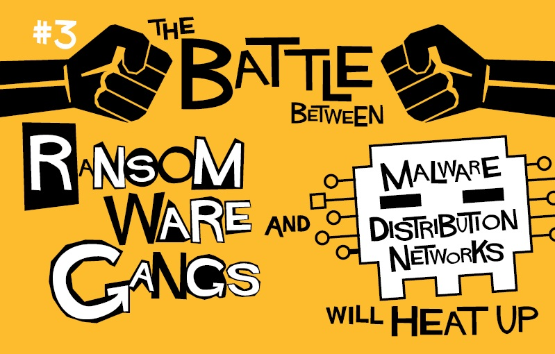 3. The Battle Between Ransomware Gangs and Malware Distribution Networks Will Heat-Up