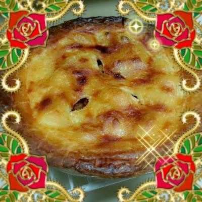 purikura homemade apple pie