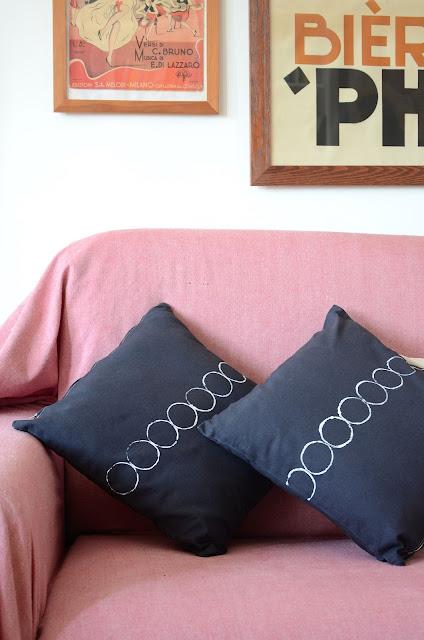 Come rinnovare i cuscini del living room
