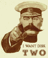I want disk two Lord Kitchener poster
