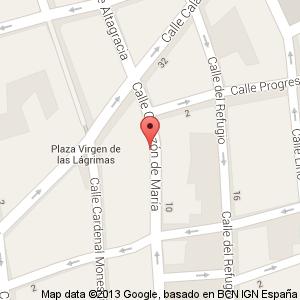 https://maps.google.es/maps?oe=utf-8&client=firefox-a&q=C/+Coraz%C3%B3n+de+Maria,+19,+Ciudad+Real&ie=UTF-8&hq=&hnear=0xd6bc341c38ce633:0x9ca81c1cb6edb614,Calle+Coraz%C3%B3n+de+Mar%C3%ADa,+19,+13003+Ciudad+Real&gl=es&ei=9NitUpHwKsqO0AXf-4CQCA&ved=0CDQQ8gEwAA