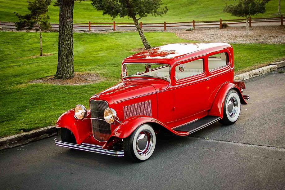 1932 Ford Tudor Sedan Classic Picture Wallpapers - Hot Rod Cars