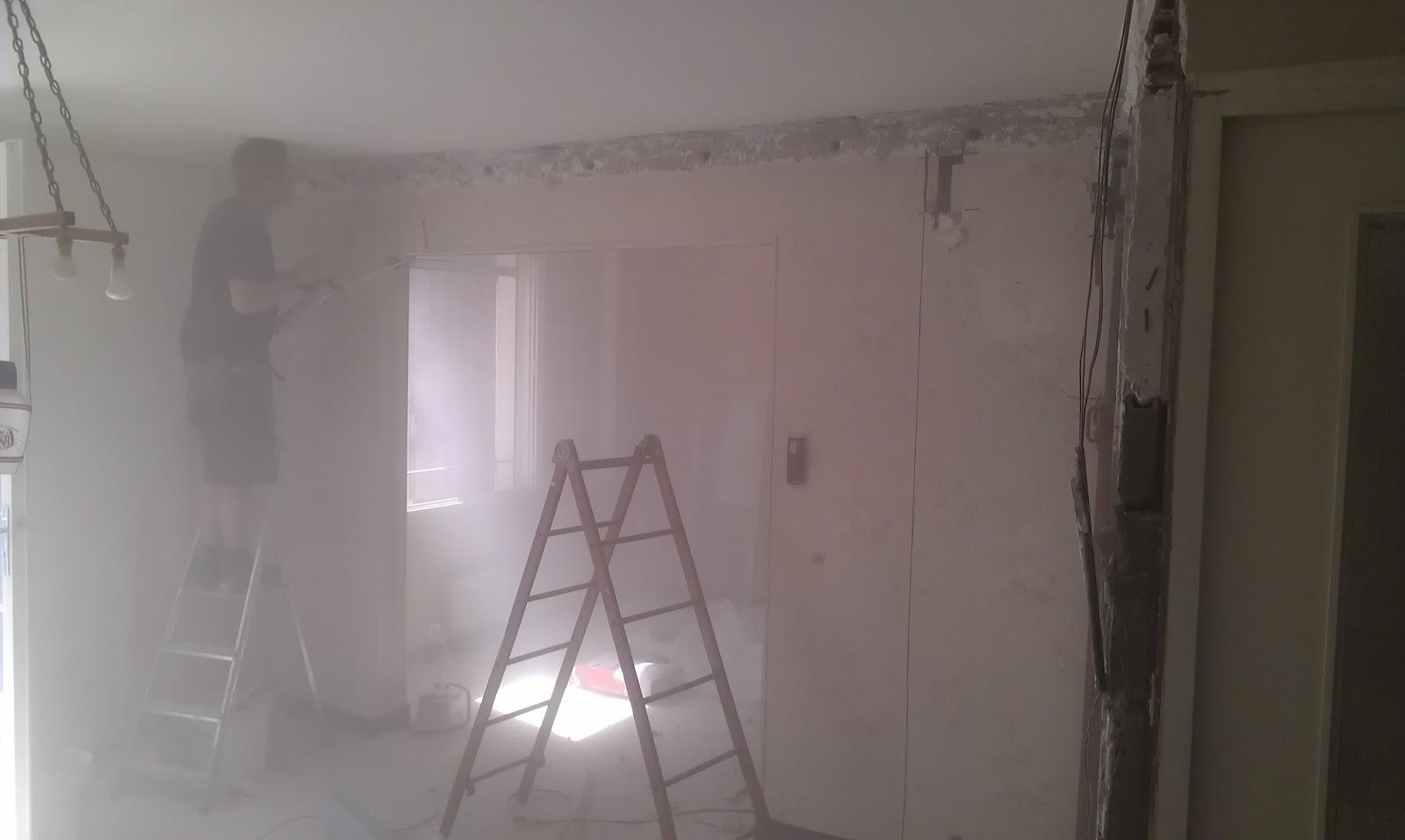 le home sweet home de la family maz mur porteur cass. Black Bedroom Furniture Sets. Home Design Ideas