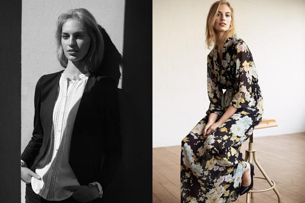 vestido largo floral H&M primavera 2016