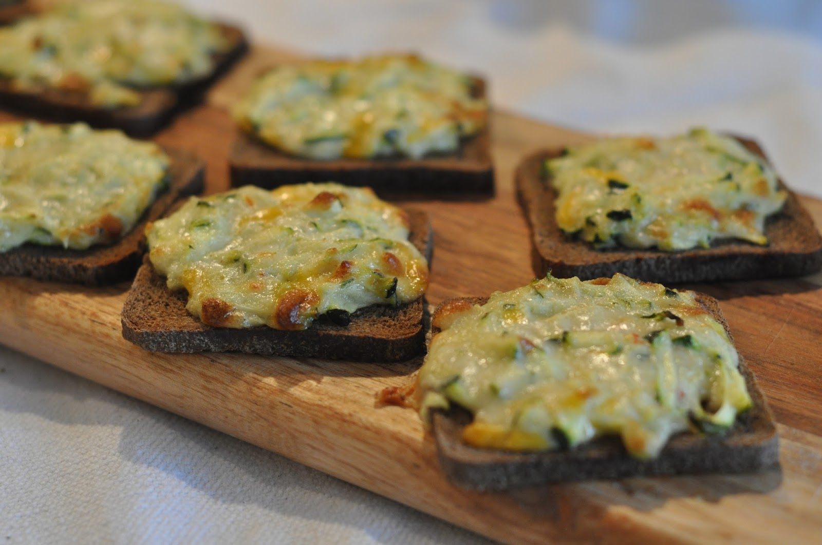 Mennonite Girls Can Cook: Toasted Zucchini Snacks