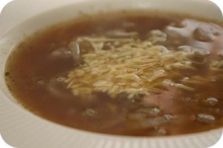 Cocinar sin sal sopa de cebolla sin sal - Cocinar sin sal ...