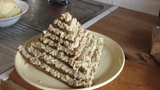 готовый салат Пирамида