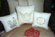 Woodworker Transfer Tool - YOU CAN MAKE COOL STUFF - JUST LIKE I DID! Click on pillow to learn how: