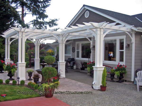 Pergolas october 2011 for Pergola designs